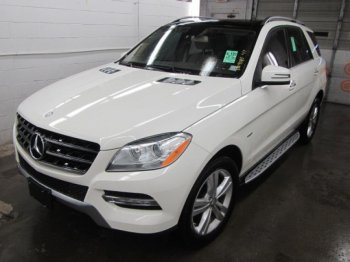 2012  NERCEDES  ML350BTC  3.0L BLUE