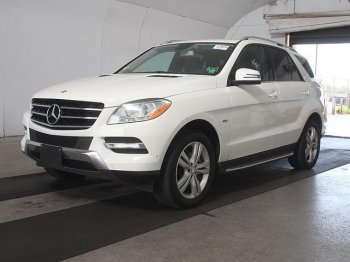 2012 MERCEDES  ML 350 4MATIC