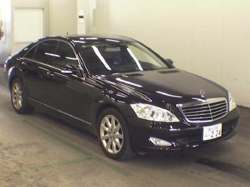 2008 Mercedes S350 ( из Японии)